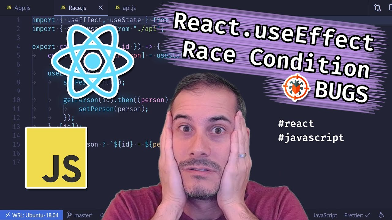 Be Cautious of React.useEffect Race Condition Bugs | JavaScript