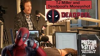 tj miller talks deadpool and working with michael bay