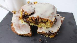CINNAMON ROLL CAKE - سینامون رول کیک - दालचीनी रोल केक *COOK WITH FAIZA*