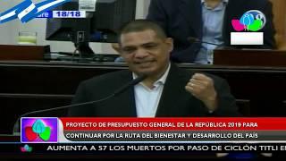 Presupuesto General de la República 2019 garantiza el gasto social y la inversión pública