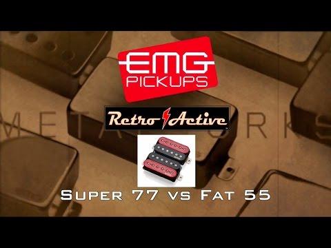 EMG Retro Active Super 77 VS Fat 55 (Bridge Pickups)