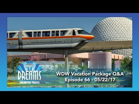 Walt Disney World Vacation Package Question & Answers Part 2 | 05/22/17