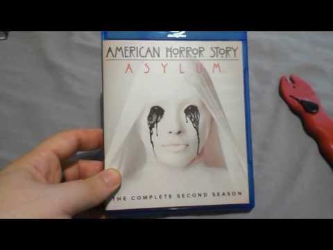 American Horror Story Asylum Blu-Ray Unboxing Opening, The Complete Second Season, Nice Slipcover!!!