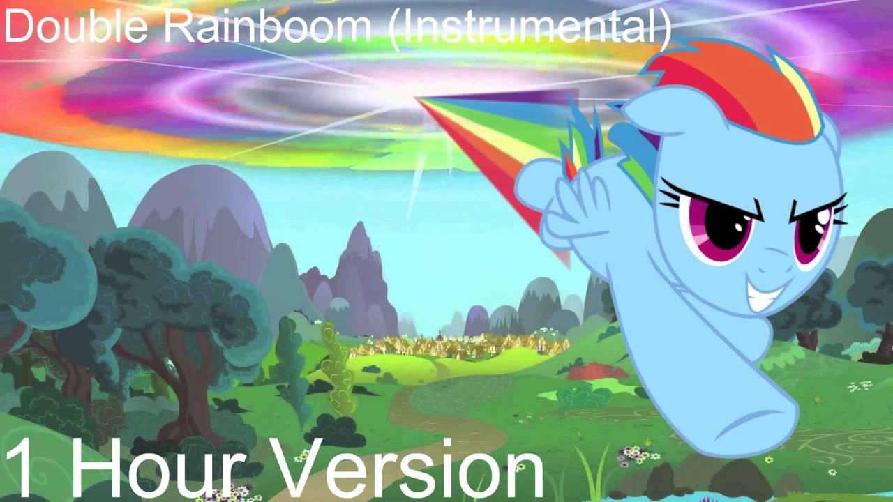 1 Hour Version of Double Rainboom