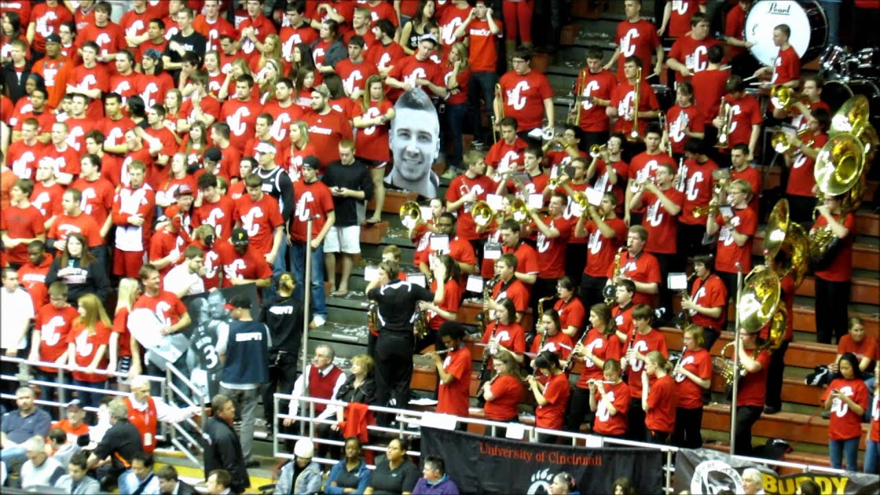 University of Cincinnati Basketball Red Pep Band at UC vs ...