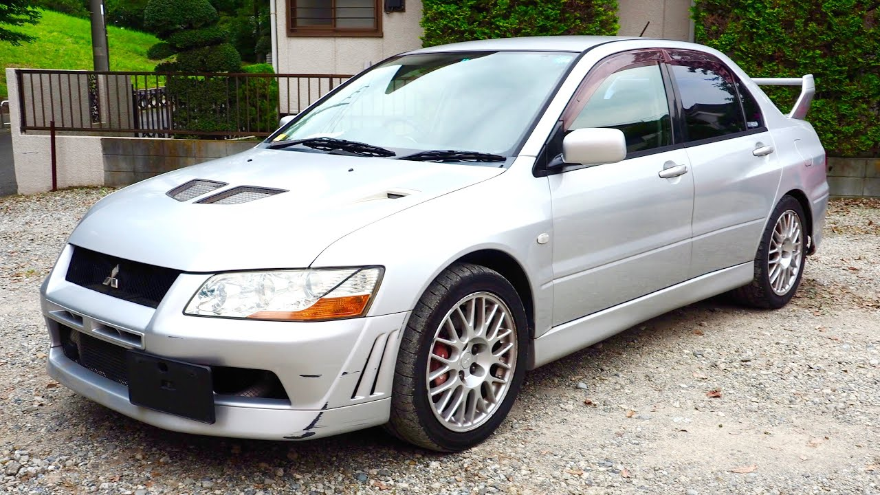auction lancer watch youtube italian rs mitsubishi review evolution import sale for purchase
