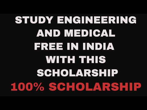 SCHOLARSHIP FOR 12th student appearing for medical and engineering- 2018