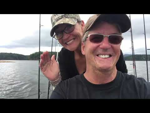 Fishing For Catfish On Lake Ouachita Arkansas