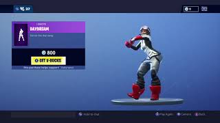 Fortnite New DayDream emote with New Powder Skin edit style