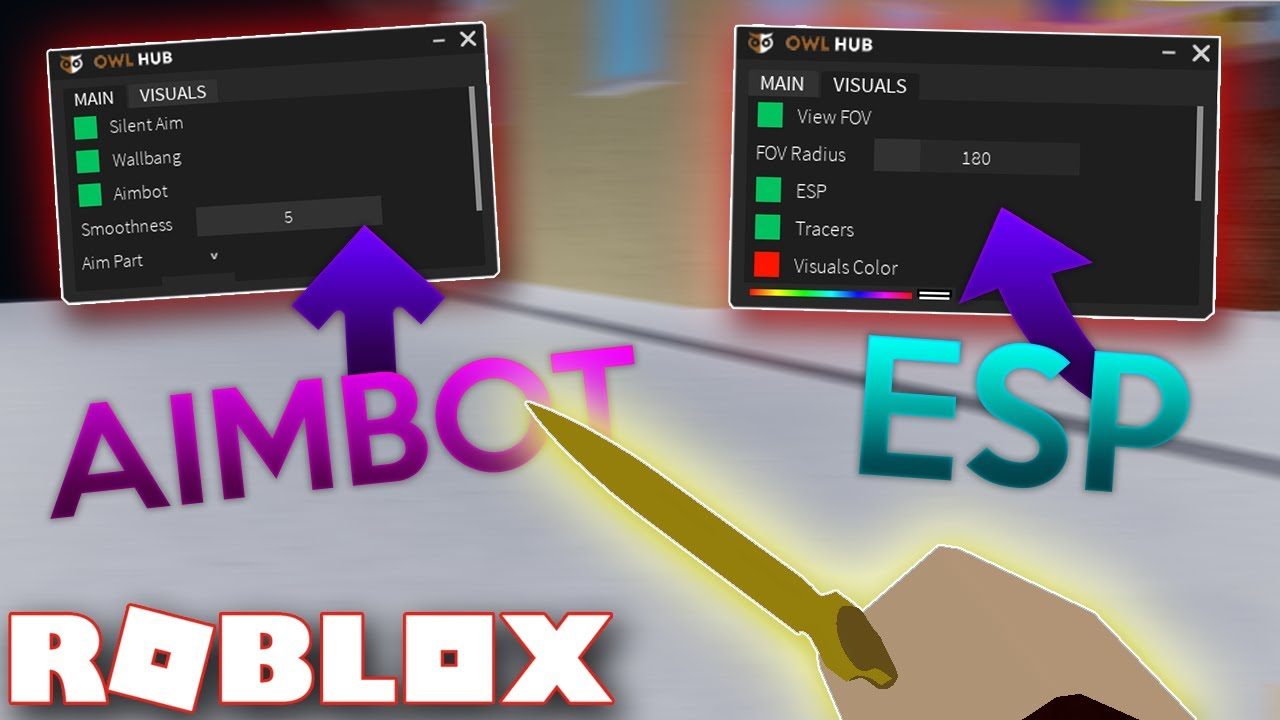 New Roblox Hackscript Aimbot Esp Silent Aim More