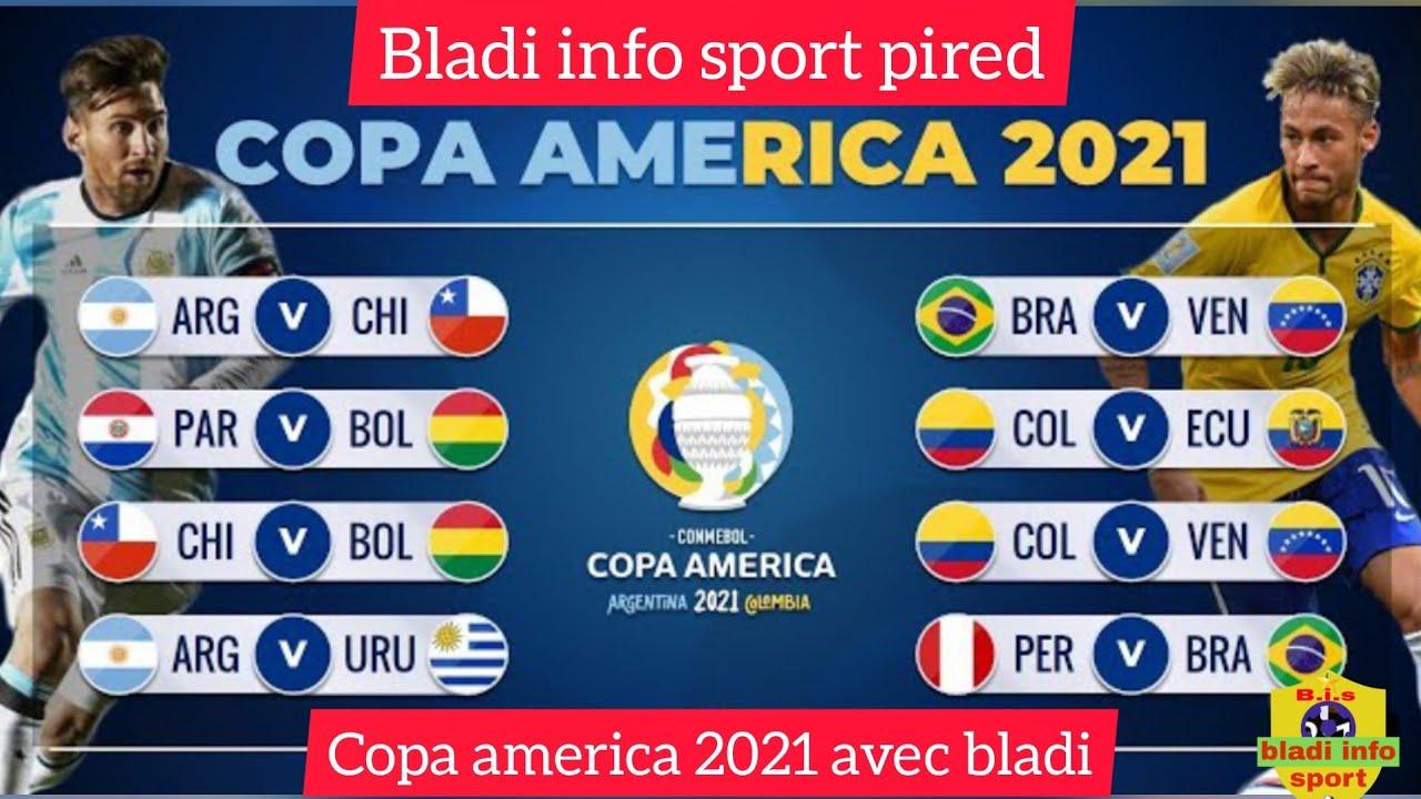 Copa America 2022 Calendrier 📅 calendrier copa america 2021.   YouTube