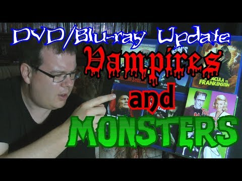 Vampires and Monsters! DVD/Blu-ray Update!