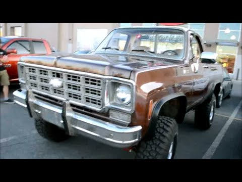 Blazer 2015 Chevrolet >> AWESOME '75 -'79 CHEVY BLAZER 4X4 PICKUP - YouTube