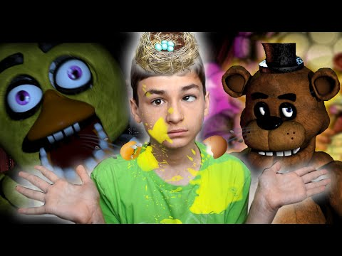 ЯИЧНЫЙ ПУЛЕМЁТ! :D | Five Nights at Freddys + EGGFIRE CHALLENGE!