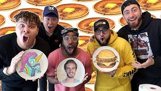 PANCAKE ART CHALLENGE PART 3 (FT ALBOE)