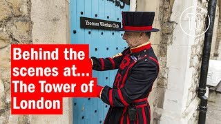 Behind The Scenes at the Tower of London | City Secrets | Time Out London