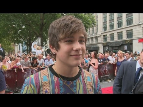 The Wolverine premiere: Austin Mahone on British girls and touring with Taylor Swift