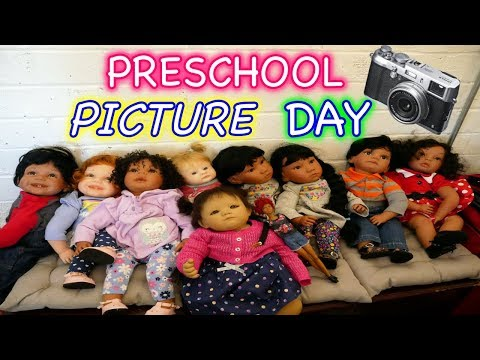 Silicone Baby Picture Day at School + Winter, Snow & Reborn Toddler Dolls
