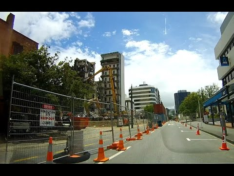 Post-earthquake demolition - Central Wellington