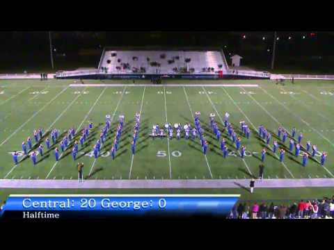 Central Jr. High vs George Jr. High Football