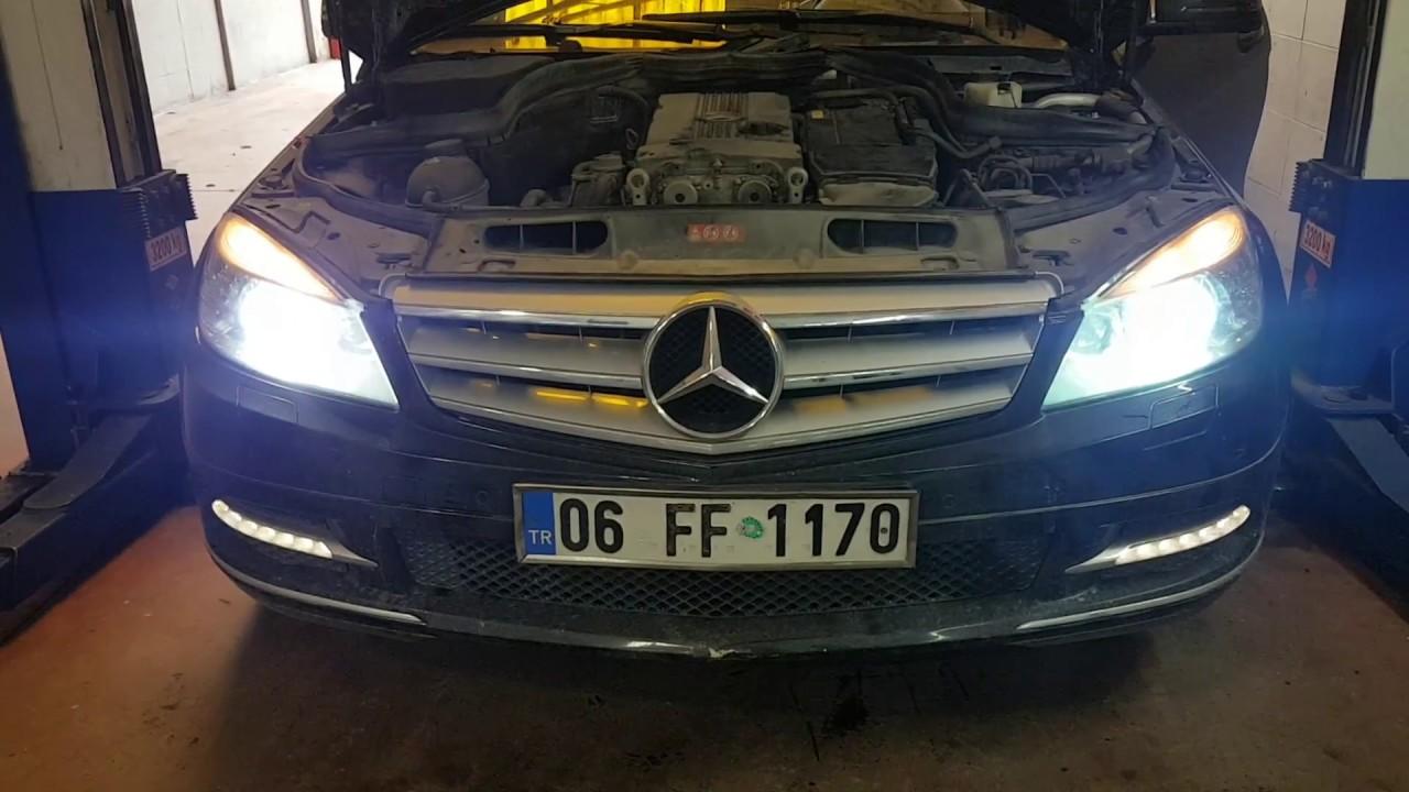 Mercedes-Benz (Oil Change) (bakımmotortemizliği) - YouTube