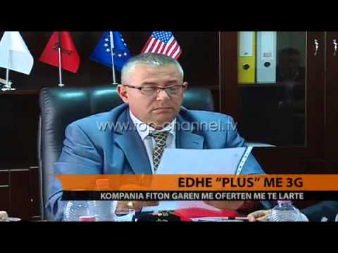 Edhe 'Plus' me 3G - Top Channel Albania - News - Lajme