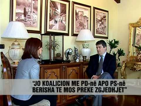Intervista e Bamir Topit - Vizion Plus - News - Lajme