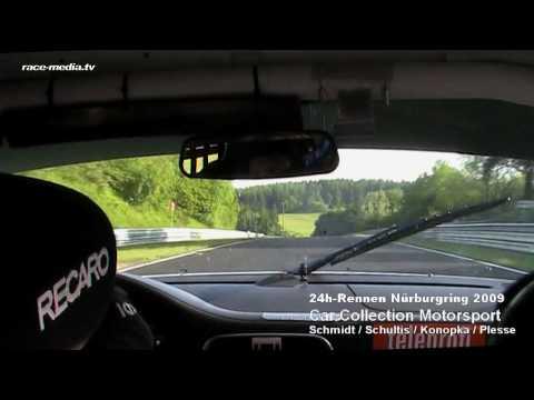 24h-Rennen Nürburgring Nordschleife 2009 / Car Collection Motorsport Porsche 997 GT3 Cup Onboard