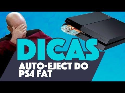 RESOLVENDO O AUTO-EJECT DO PS4 FAT