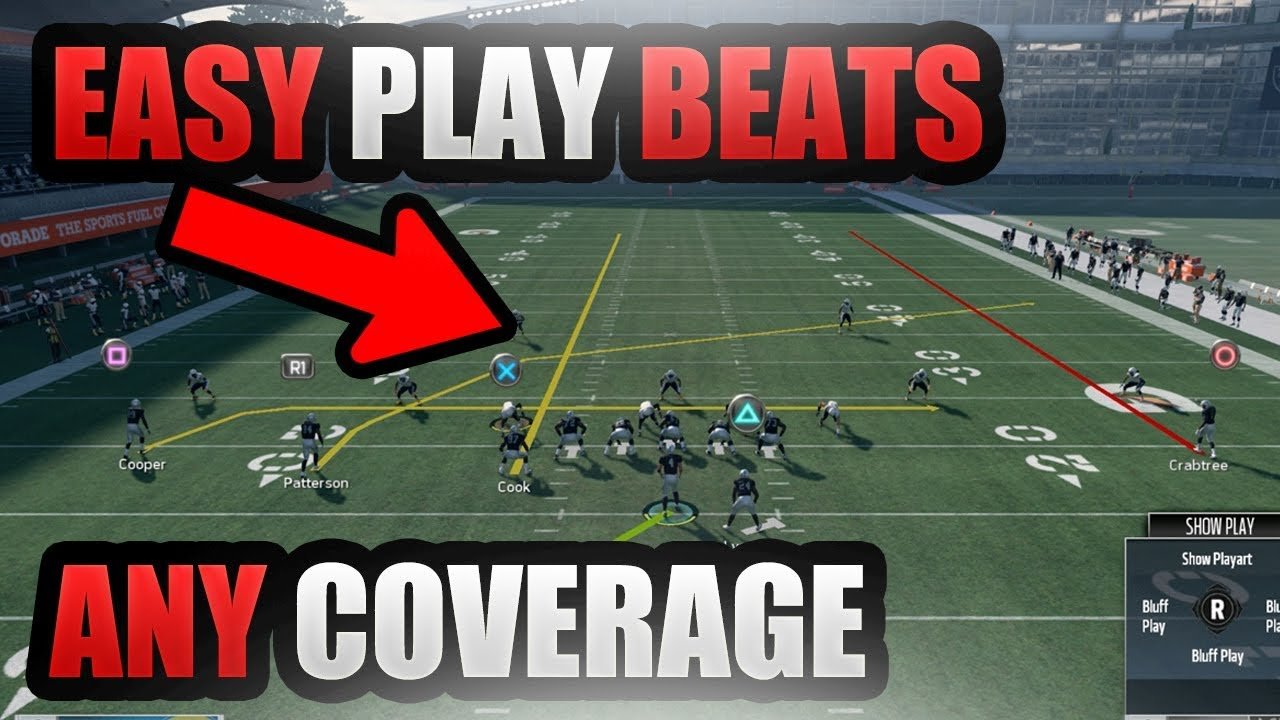 madden 18 money play destroys man and zone coverage madden 18 glitch money play beats any coverage