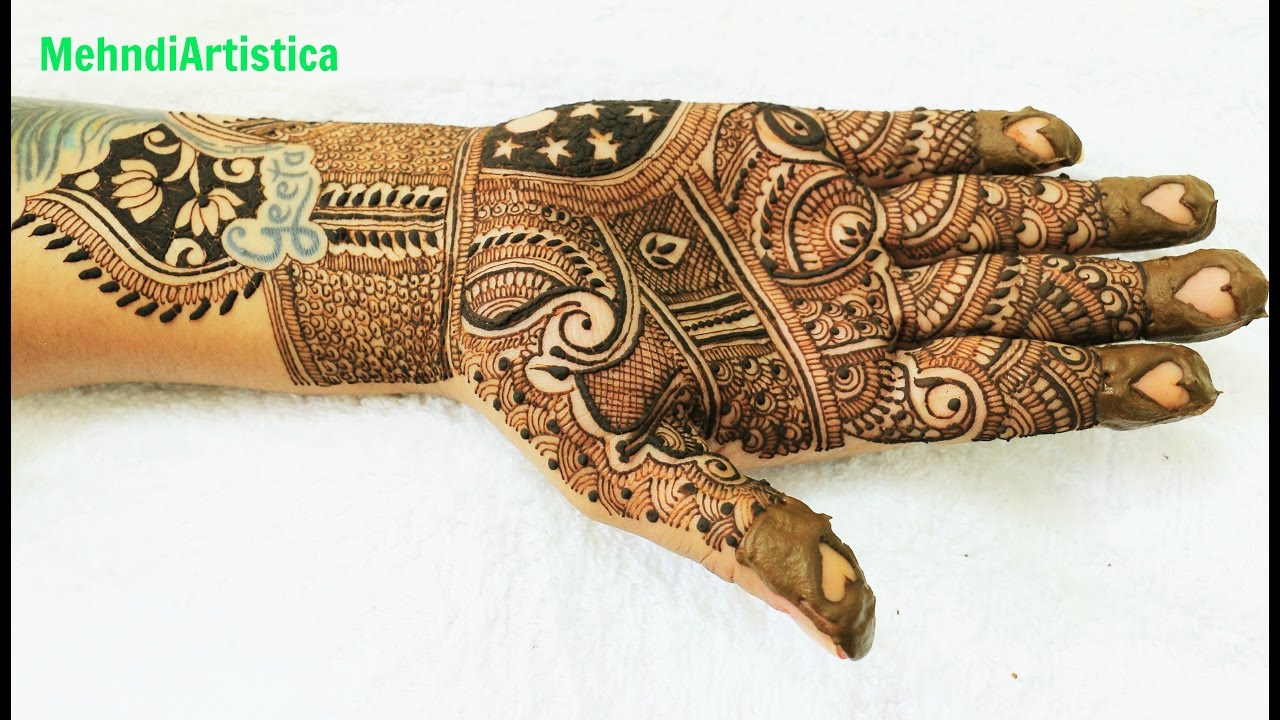 Traditional Henna Designs: Beautiful Easy Simple Traditional Mehndi Designs For Hands