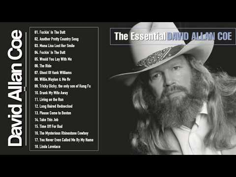 David Allan Coe Greatest Hits - Best Songs Of David Allan Coe