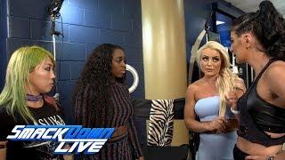 Mandy Rose & Sonya Deville mock Asuka & Naomi: SmackDown Exclusive, Sept. 25, 2018