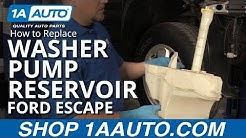 How to Replace Windshield Washer Reservoir 07-12 Ford Escape