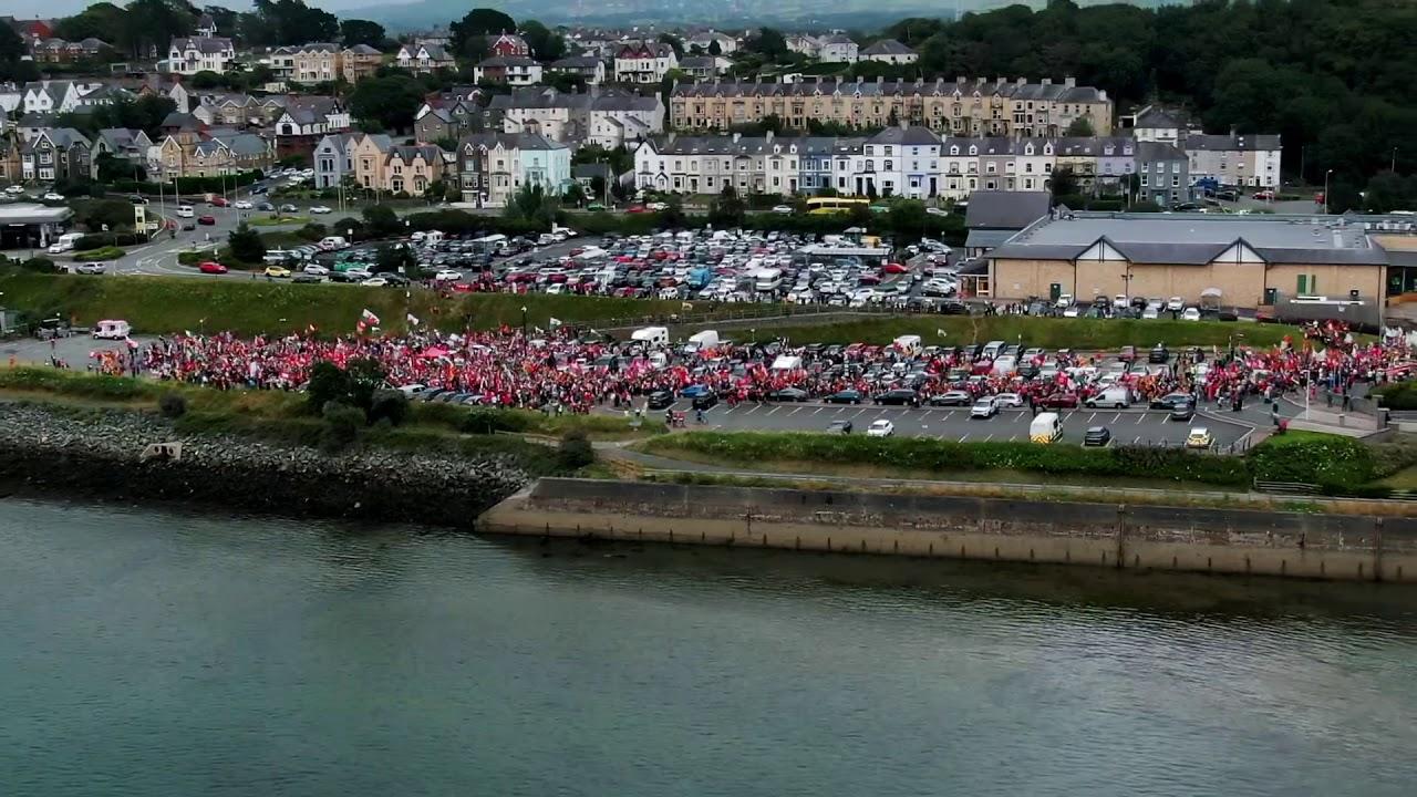 Gorymdaith Dros Annibyniaeth/ March For Independence - Caernarfon - 27/07/19