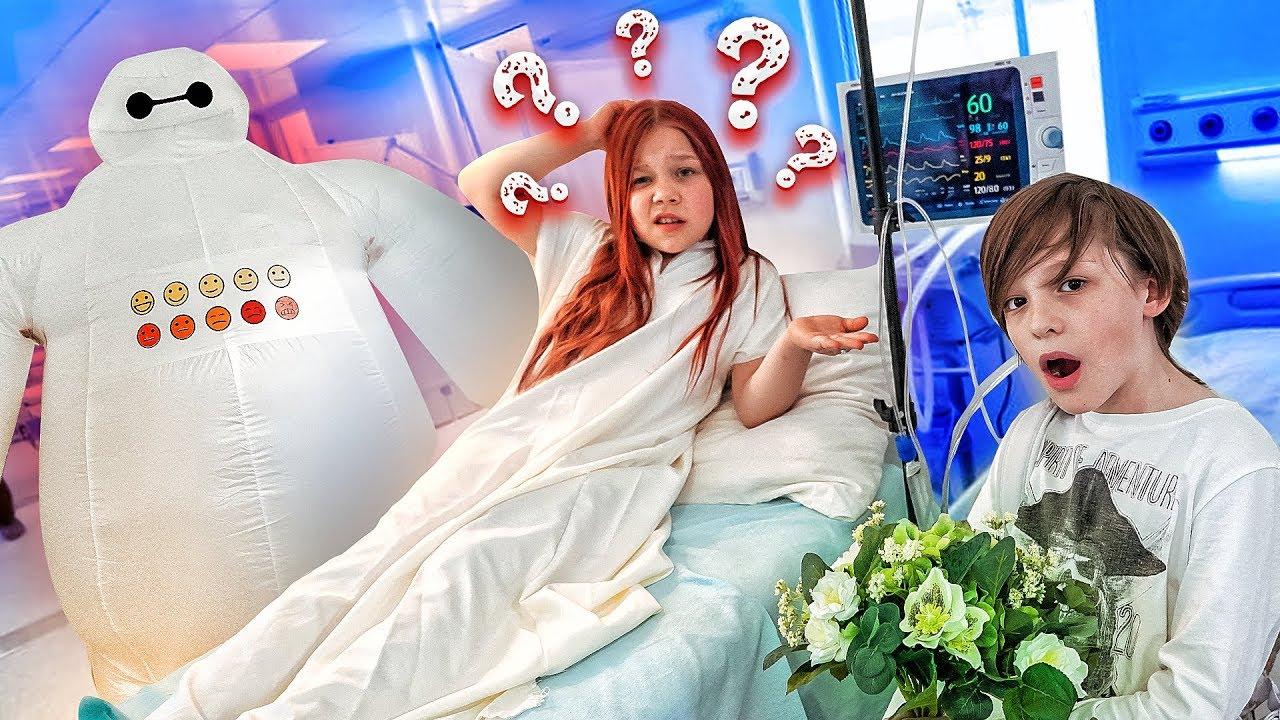 Ксюша ПОТЕРЯЛА ПАМЯТЬ! РОБОТ КВС ВО ВСЕМ ВИНОВАТ?! Что произошло в больнице?