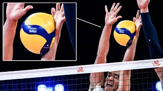 Oh My Goodness!!! Powerfull/Monsters Volleyball Blocks | HD