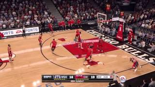 NBA 2016 gameplay