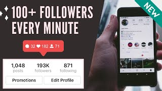 How To Get INSTAGRAM Followers FAST (2019) | 4 METHODS | 100% WORKING 👍
