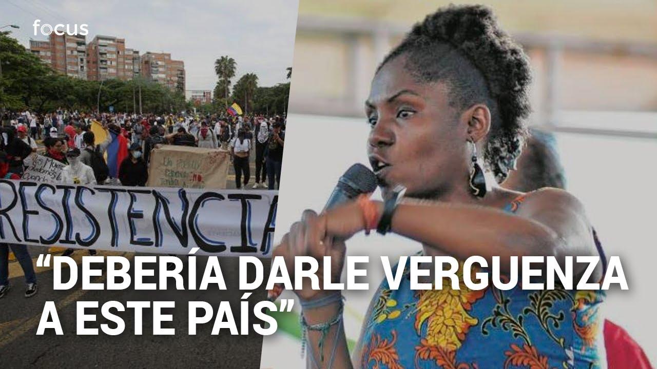 """""""Esto es inocultable"""": Francia Márquez en la plenaria de la Cámara desde Cali"""