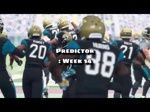 Madden 18 - Predictor : Week 14