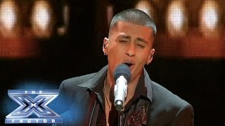 Carlito Olivero Rocks to Ricky Martin! - THE X FACTOR USA 2013