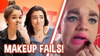 Try Not To Laugh Challenge | Makeup Fails!
