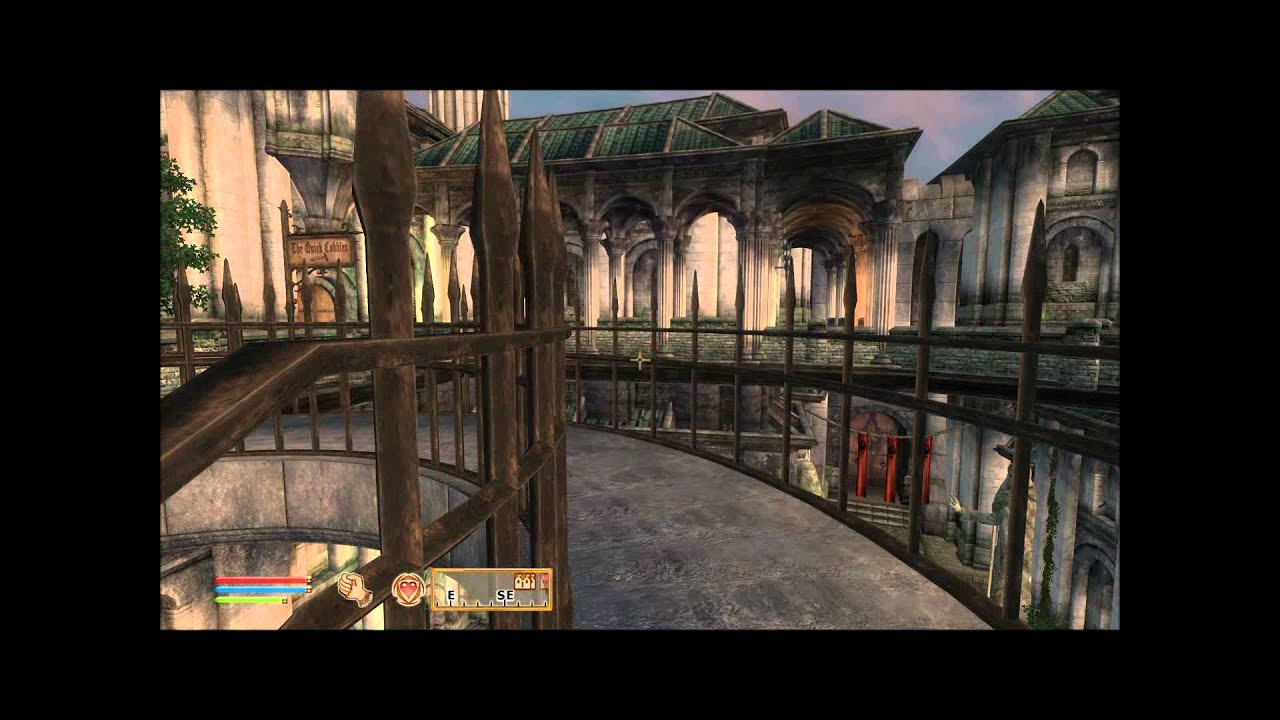 Oblivion Better Cities - Imperial Market District (mods) HD by kris nicolson
