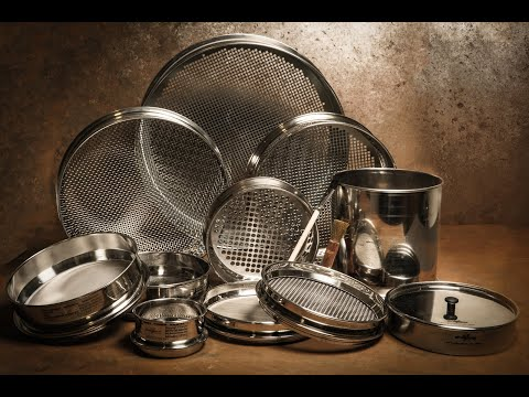 Glenammer Test Sieve Manufacturing Process
