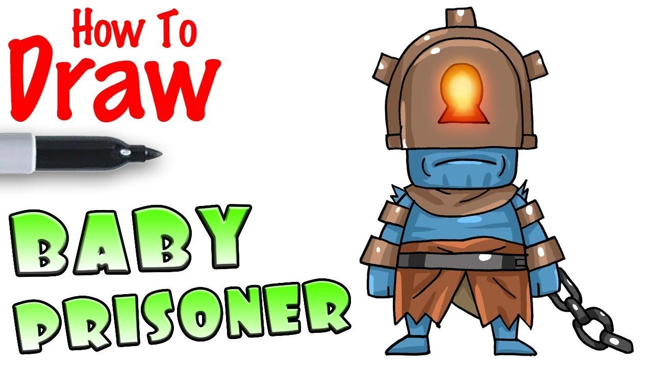 How To Draw Chibi Prisoner Fortnite Youtube