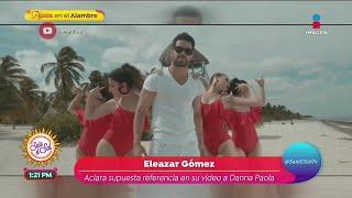 ¿Eleazar Gómez es gay? Él lo aclara tras el escándalo por sencillo de Danna Paola   Sale el Sol
