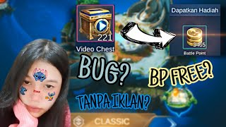 Bug Viral? Video Chest Jadi Battle point di Mobile Legend!