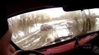 Покатушка на Теплый канал 03.02.2013.