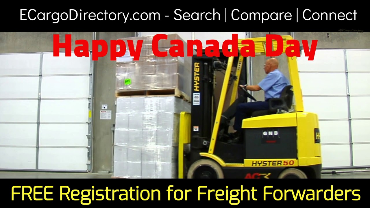 Happy Canada Day - Cargo Directory for Cargo Agents